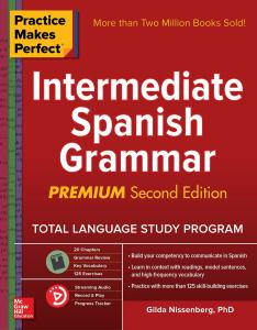 خرید کتاب اسپانیایی Practice Makes Perfect Intermediate Spanish Grammar