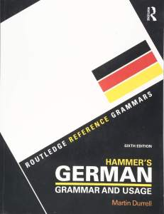کتاب گرامر آلمانی Hammer's German Grammar and Usage
