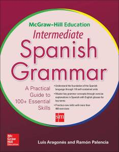 کتاب گرامر متوسط اسپانیایی McGraw-Hill Education Intermediate Spanish Grammar