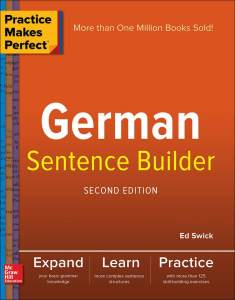 خرید کتاب آلمانی Practice Makes Perfect German Sentence Builder