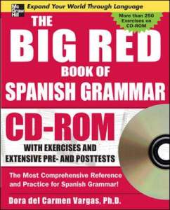 کتاب اسپانیایی The Big Red Book of Spanish Grammar